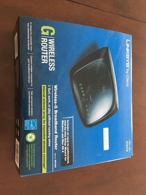 Linksys Cisco G wireless router for Sale in Leesburg, VA