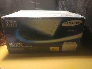 Samsung ML1740 Monochrome Laser Printer for Sale in Traverse City, MI