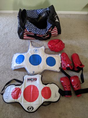 Martial Arts Taekwondo Sparring Pads Set for Sale in Goodyear, AZ