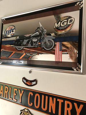 Harley Davidson 100 anniversary mirror for Sale in Margate, FL