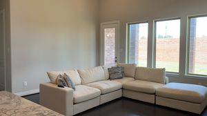 Sectional sofa couch furniture with pillows for Sale in Sugar Land, TX