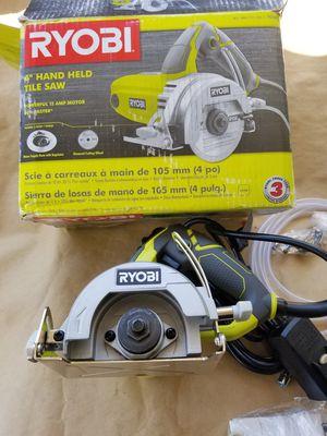 RYOBI 4 in. Tile Saw for Sale in Rialto, CA