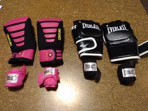 2 pair Men/Women boxing gloves for Sale in Cheney, KS