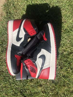 "Jordan 1 retro high ""Bred Toe"" for Sale in Lodi, CA"