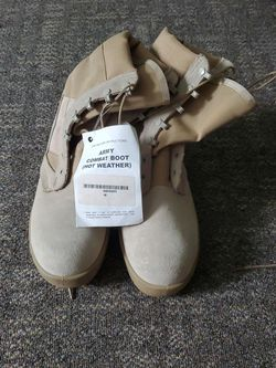 Army Combat Boot Tan SZ 6W for Sale in Olympia,  WA