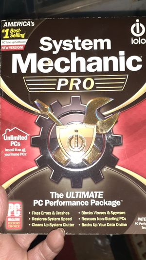 System Mechanic Pro the ultimate PC performance package software for Sale in Portland, OR