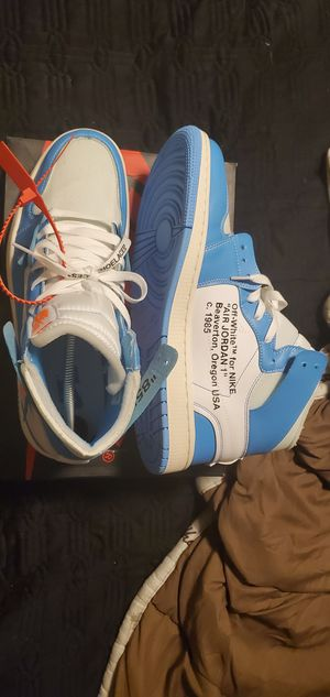 UNC off-white af1ns for Sale in Stockton, CA