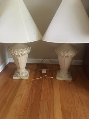 Two beautiful table lamps for Sale in Woodhaven, MI