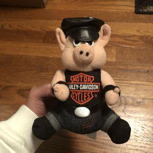 HARLEY DAVIDSON Motor Cycle Biker Hog Pig Piggy Plush Stuffed Animals Toy for Sale in Pleasantville, NY