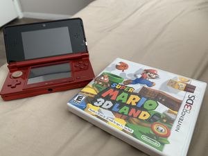 Nintendo 3DS - Flame Red for Sale in San Marcos, CA