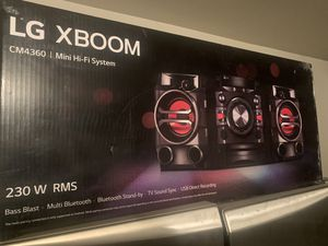 LG Xboom 230WRMS for Sale in Tomball, TX