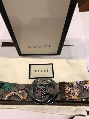 Gucci Belt Bengal New Authentic comes with Dust bag and Box for Sale in New York, NY