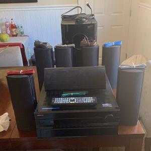 ONKYO TX-SR805 Surround System 7.1 for Sale in San Bruno, CA
