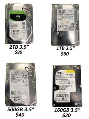 """3.5"""" SATA Storage """"HDD"""" for Sale in Los Angeles, CA"""