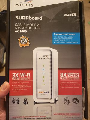 Modem and Router for Sale in Phoenix, AZ