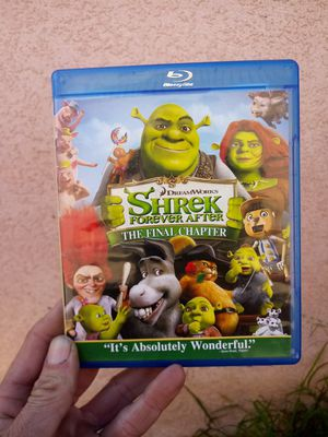 Shrek 4 The final chapter on blu ray perfect condition for Sale in Glendora, CA