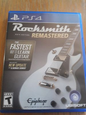 PS4 Rocksmith Remastered for Sale in St. Louis, MO