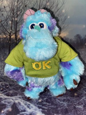 "Disney Pixar Monsters inc University Sully Sullivan 9"" plush toy for Sale in Long Beach, CA"