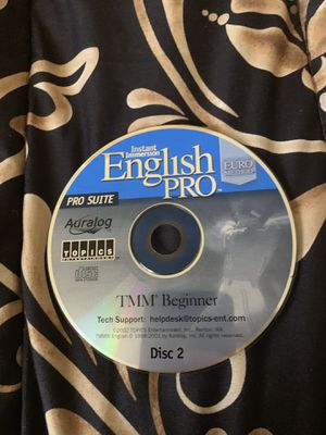 Learn English disc for Sale in Hollywood, FL