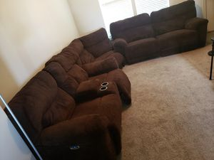 3 piece sectional Couches for Sale in West Jordan, UT