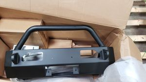 Warn Bumper with winch housing for Sale in Aurora, IL