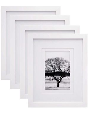 Brand New; White Wood Picture Frames for Sale in Bakersfield, CA