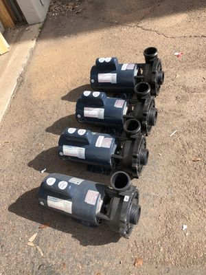Lot of 4 spa Hot tub pumps for Sale in Tempe, AZ