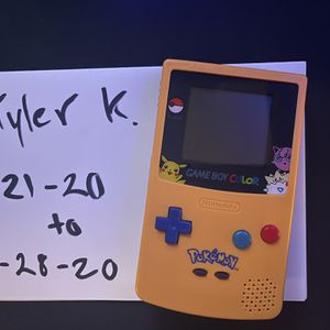 Pokémon Edition GameBoy Color! Re-Shelled for Sale in Newport Beach, CA
