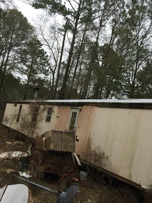 14/80 ft Singlewide Mobile Home. 3BR 2 Ba.. Project ready for Sale in Eastman, GA