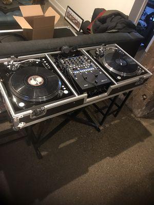 DJ equipment , full system , rane mixer , serato , audio technica usb turntables for Sale in Chicago, IL