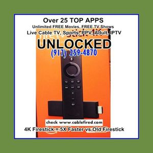 brand new fire TV stick 4k new generation for Sale in New York, NY