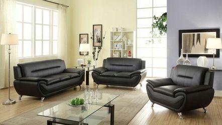 3pc black sofa set(several colors available) for Sale in Marietta,  GA