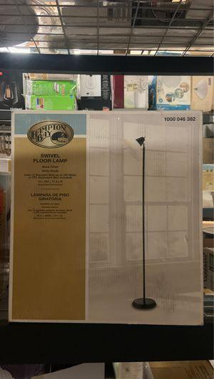 Hampton Bay Swivel Floor Lamp for Sale in Atlanta, GA