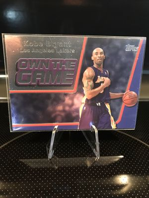 **Topps 2006 Kobe Bryant Basketball Card**Own The Game Insert**Lakers Jersey 8 Collectible Memorabilia**MINT**$17 OBO for Sale in Carlsbad, CA