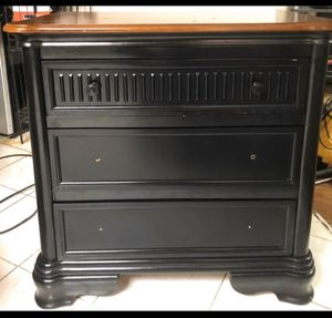 Black and brown chocolate side dresser for Sale in Washington, DC