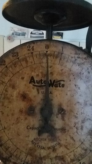 Vintage kitchen scale 1930's for Sale in Mohnton, PA