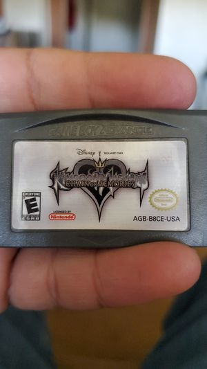 kingdom hearts chain of memories for Sale in Sanger, CA