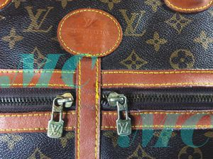 Genuine Louis Vuitton vintage keepall bag large used needs tlc for Sale in Chicago, IL