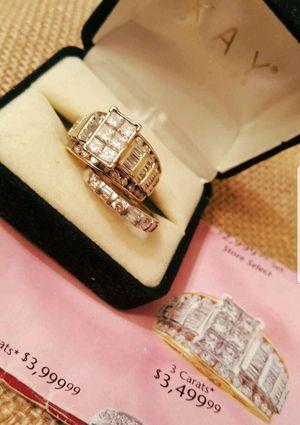 Breathtaking 4 carat bridal set... for Sale in Atlanta, GA