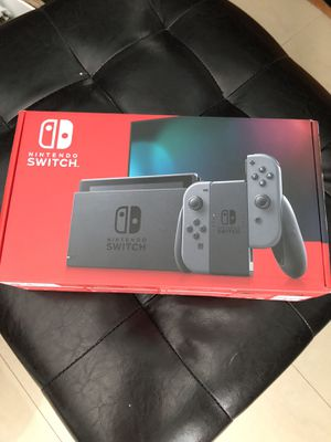 Nintendo-Switch Console V2 with Gray Joy Con grey BRAND NEW for Sale in Tampa, FL