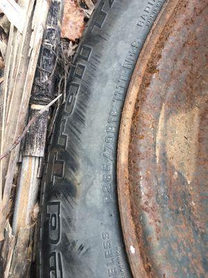 265/70/16 BFGOODRICH Rugged Trail AT on 6-lug steel wheel for Sale in Bluemont, VA