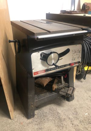Table saw for Sale in Renton, WA