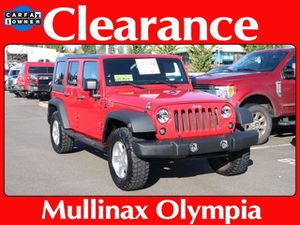 2011 Jeep Wrangler Unlimited for Sale in Olympia, WA