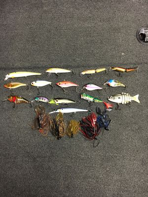 Fishing tackle (crankbaits, jigs, topwater) for Sale in McMinnville, OR