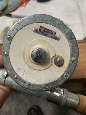 Vintage Mitchell reel and fishing rod for Sale in Levittown, PA