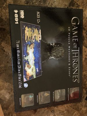 Game of thrones puzzle ( Brand New) for Sale in Belen, NM