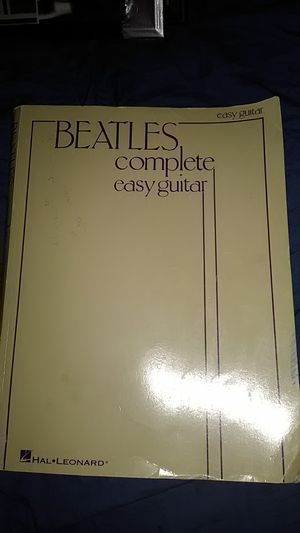 THE BEATLES COMPLETE EASY GUITAR COMPOSITION MUSIC BOOK for Sale in Yardley, PA