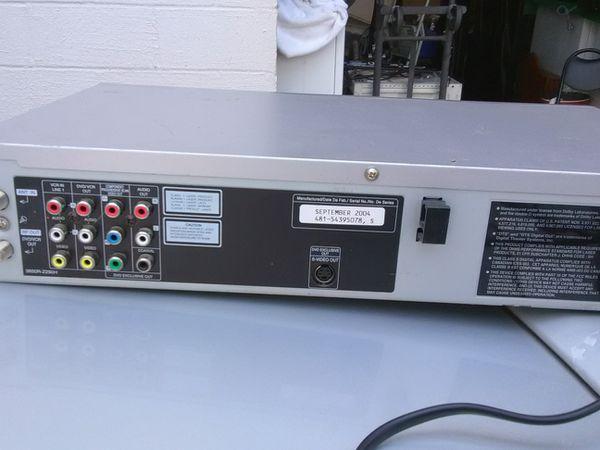 CD DVD player VHF