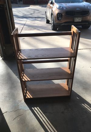 Solid Oak Folding Shelves for Sale in Arvada, CO