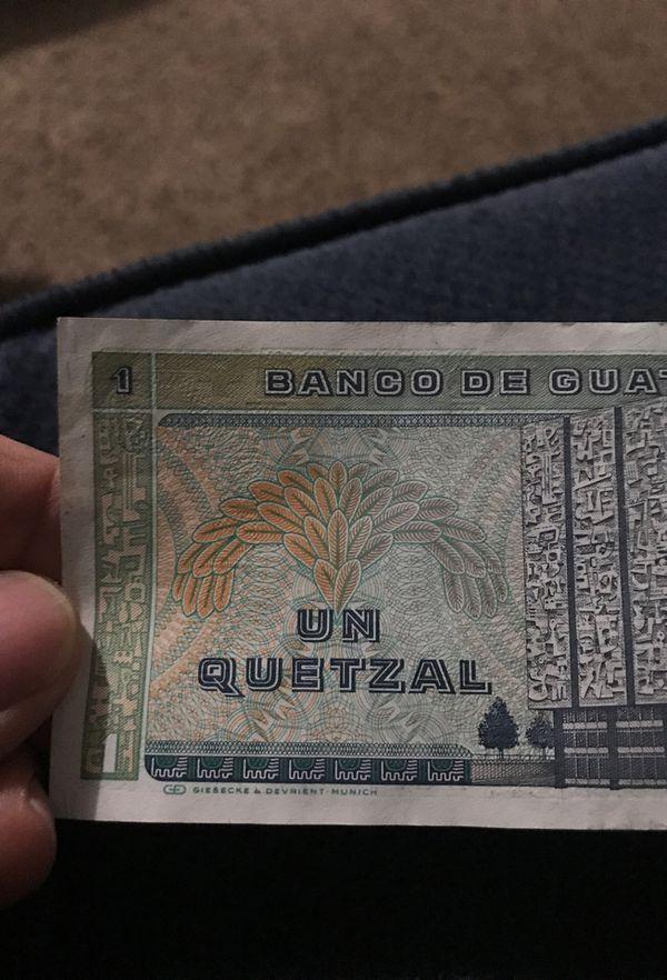 Guatemala/ 1 Quetzal